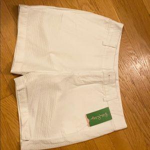 Lilly Pulitzer White Jayne Shorts Size 2